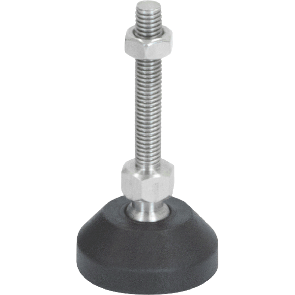 Ball Jointed Stainless Steel Levelling Feet